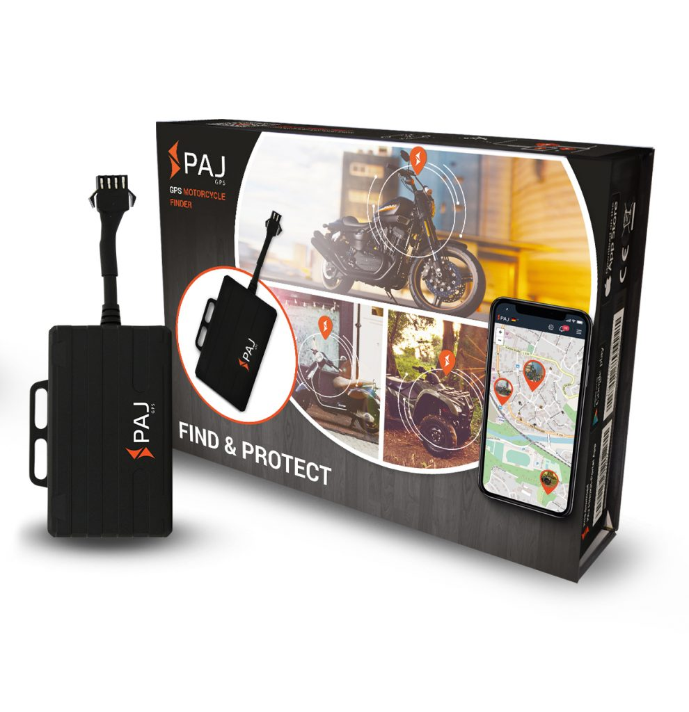motor cycle finder from paj gps